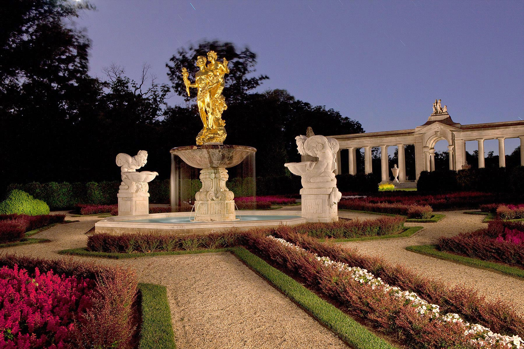 Achievement,   Nemours Mansion and Gardens