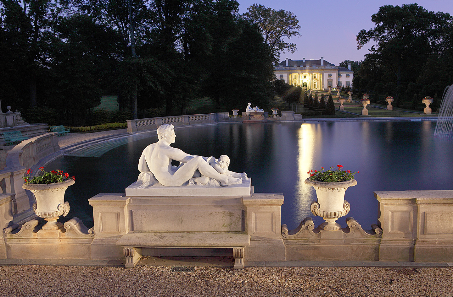 The Swimming Pond, Nemours Mansion and Gardens