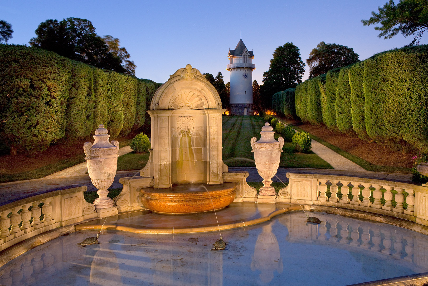 Water Tower,  Nemours Mansion and Gardens
